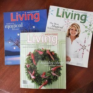 Martha Stewart Living Christmas Magazines